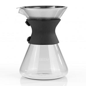 BEEM POUR OVER Kaffeekaraffe mit Permanentfilter - 6 Tassen | CLASSIC SELECTION | 3-teilig