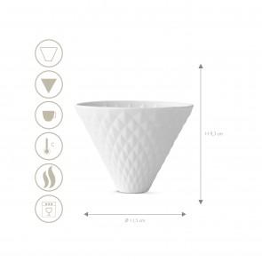 BEEM POUR OVER Kaffeefilter zum Hängen - 4 Tassen