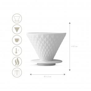 BEEM POUR OVER Kaffeefilter mit Standfuß - 4 Tassen