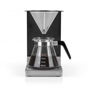 BEEM POUR OVER Kaffeebereiter Set - 4 Tassen | 4-teilig Betonoptik