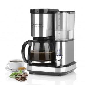 Barista Kaffeemaschine mit Mahlwerk - Inkl. Glaskanne (1,2 l) - Edelstahl/schwarz
