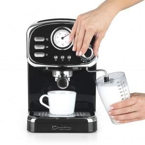 Barista Espresso-Maschine Retro - 15 bar - schwarz