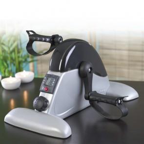 VITALmaxx Mini-Trainer 2in1 für Arme und Beine in Grau-Transparent