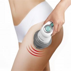 VITALmaxx Ganzkörper-Massagegerät 4-tlg. 25W - Weiß/Grau