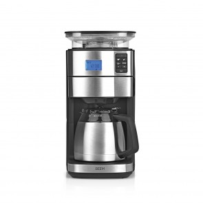 BEEM FRESH-AROMA-PERFECT II Filterkaffeemaschine mit Mahlwerk - Thermo