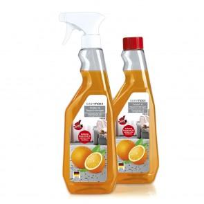 EASYmaxx Polsterreiniger Orange - Inkl. Schwamm - 2er-Set - 750 ml