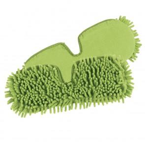 CLEANmaxx Ersatz-Wischtuch 2er-Set in Limegreen für den Spray-Mopp