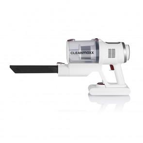 CLEANmaxx Akku-Zyklon-Staubsauger Pro - 22,2 Volt - weiß/rot