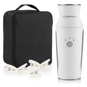 CLEANmaxx Hemden- & Blusenbügler Kompakt - 3 Stufen Trocknungszeit - weiß/silber