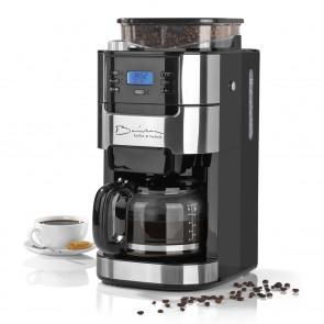 Barista Kaffeemaschine mit Mahlwerk 900W - Edelstahl/Schwarz