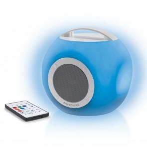 EASYmaxx LED-Bluetooth-Lautsprecher Colorcube 3,7V - Weiß