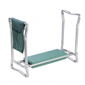 EASYmaxx Garten-Knie-& Sitzbank faltbar 2in1