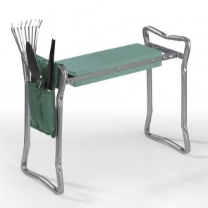 EASYmaxx Garten-Knie-& Sitzbank - faltbar - Belastbar bis max. 130 kg