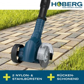 Hoberg Akku Fugenreiniger 20 V (inkl. Akku & Ladestation)