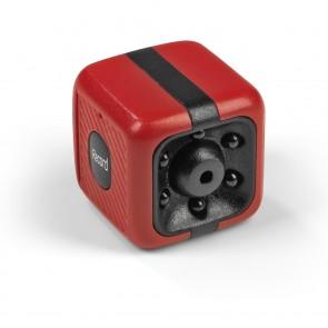 EASYmaxx Mini-Kamera mit Speicherkarte 8GB - rot/schwarz