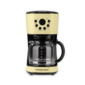 GOURMETmaxx Kaffeemaschine Retro 900W - Vanille