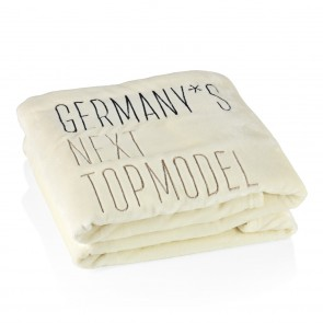 Germany's next Topmodel Kuscheldecke - 150x200 cm - pearl