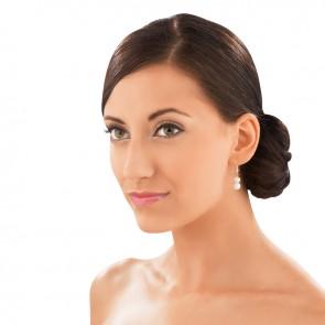 vitalmaxx Magnetschmuck Perlen-Ohrringe - Tragebeispiel