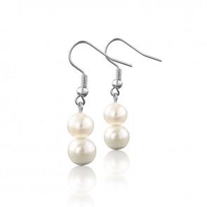 vitalmaxx Magnetschmuck Perlen-Ohrringe