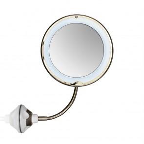 GNTM LED-Kosmetikspiegel - pearl/gold