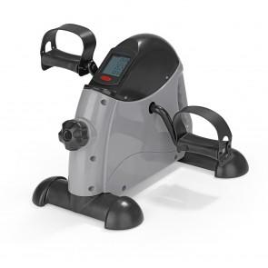 VITALmaxx Mini-Trainer mit Metallschwungrad 2in1, grau/schwarz