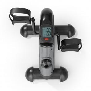 VITALmaxx Mini-Trainer mit Metallschwungrad - grau/schwarz