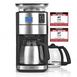 BEEM FRESH-AROMA-PERFECT II Filter-Kaffeemaschine mit Mahlwerk - Duo