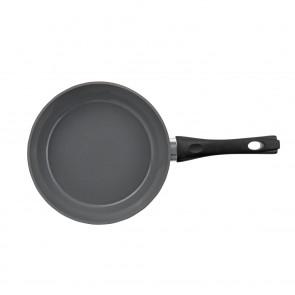 BRATmaxx Keramik-Pfanne geschmiedet 24cm - Rosa/Grau