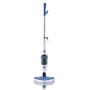 CLEANmaxx Dampfbesen mit Dampfregulierung - blau/weiß