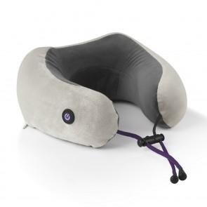 VITALmaxx Massage-Nackenkissen - 2 Vibrationsstufen - anthrazit/grau