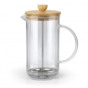 BEEM COFFEE PRESS Kaffeebereiter - 1 l | 8 Tassen | French Press | Bambus