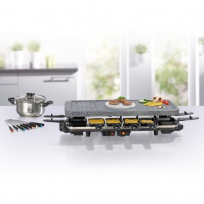 GOURMETmaxx Raclette- & Fondue-Set GRANITlook