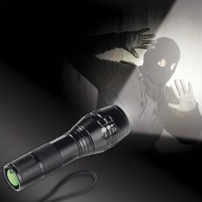 EASYmaxx Security Funktions-Taschenlampe 4,5V in Schwarz
