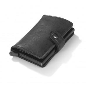 EASYmaxx Portemonnaie - Schützt vor RFID-Datendiebstahl - schwarz