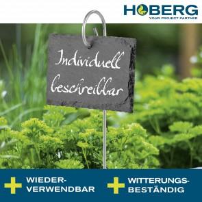 Hoberg Schiefer-Pflanzschilder, 10er Set