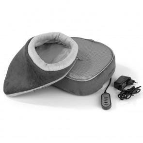 VITALmaxx Shiatsu-Massagegerät 2in1 12V - Grau