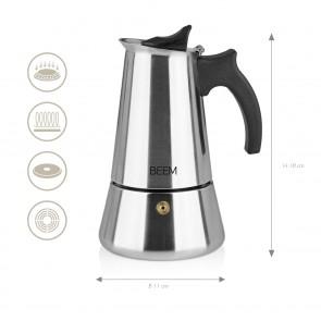 BEEM ESPRESSOMAKER - Espressokocher - 4 Tassen