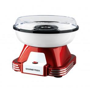 GOURMETmaxx Zuckerwatte-Maschine 500W in Rot-Weiß - Freisteller