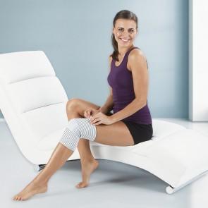 VITALmaxx Bandage Knie mit Kupferfasern - Weiß