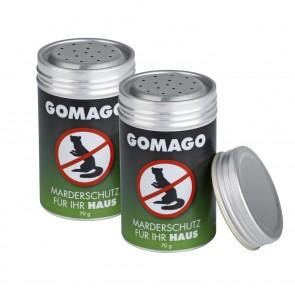 GOMAGO Mardervergrämung Haus - 4er-Set
