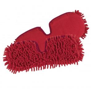 CLEANmaxx Ersatz-Wischtuch 2er-Set in Rot für den Spray-Mopp - Freisteller