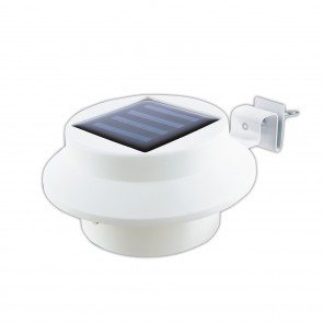 EASYmaxx Solar-Leuchte Dachrinne mit Farbwechsel - 3er-Set