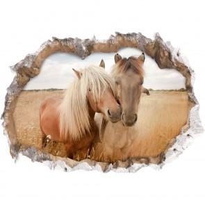 "Wandtattoo 3D ""Pferde"""