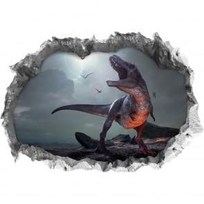 """Wandtattoo 3D """"T-Rex"""""""