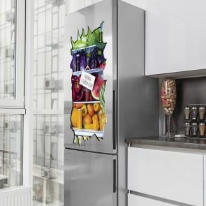 EASYmaxx Kühlschranksticker 3D