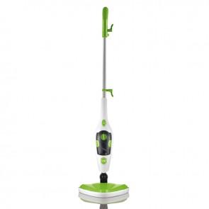 CLEANmaxx Dampfbesen 3in1 1500W limegreen/weiß - Freisteller