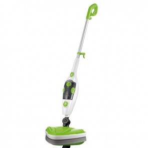 CLEANmaxx Dampfbesen 5in1 1500W limegreen/weiß