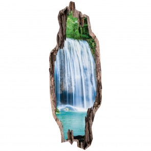 """EASYmaxx Türsticker 3D """"Wasserfälle"""" - 50 x 140 cm"""