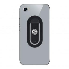 flapgrip Handyhalterung mit FC Bayern München-Logo - Smartphone-Halterung - schwarz