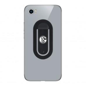 flapgrip Handyhalterung mit FC Schalke 04-Logo - Smartphone-Halterung - schwarz